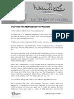 The Training of Children C5
