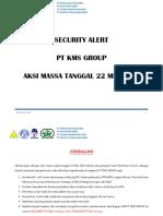 SECURITY ALERT RUSUH KMS group