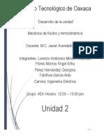 Unidad 3 Procesos y Propiedades Termodinámicas