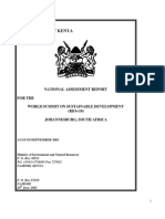 Agenda 21 Progress - Kenya