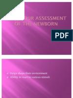 Behaviour Assessment of the Newborn