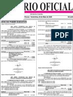Diario Oficial 22-05-2020