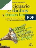 diccionario de refranes, dichos y proverbios LUIS JUNCEDA