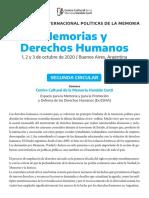 XIIISeminarioPoliticasdelaMemoria_2dacircular