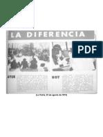 Ficha La Patria, la diferencia