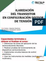 s07 transistores polariz divisor  v6 2020may CON EJERCICIOS