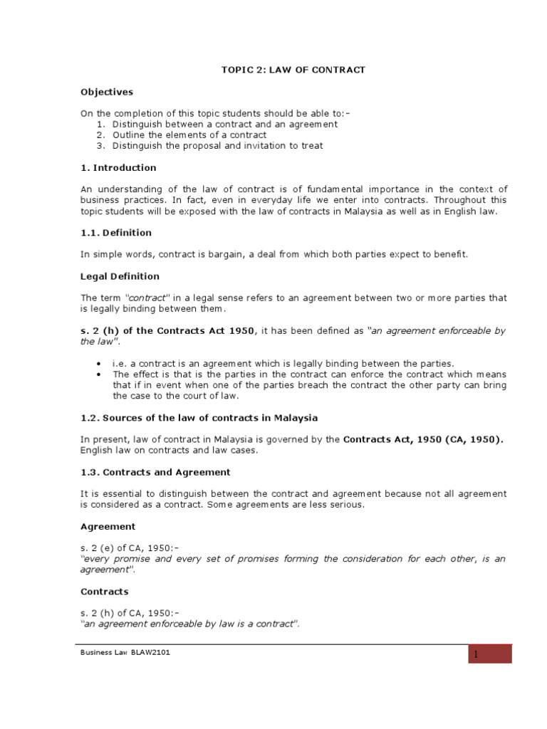 Topic2wofcontractdocx1 contractual term offer and acceptance stopboris Gallery