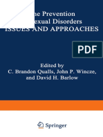 [Perspectives in Sexuality] C. Brandon Qualls (auth.), C. Brandon Qualls M. D., John P. Wincze Ph. D., David H. Barlow Ph. D. (eds.) - The Prevention of Sexual Disorders_ Issues and Approaches (1978, Springer US) - libgen.lc