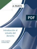 INTRODUCION AL EST DE DERECHO II