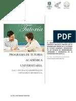 programa de tutoria académica universitaria