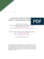 Introducción al Método de Diferencias Finitas y su Implementación Computacional