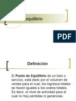 PUNTO EQUILIBRIO PRESENTACION 2020