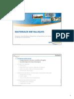 1 - Matériaux métalliques simplifié rev 27 nov 2012