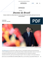 [Doente de Brasil _ Opinião _ EL PAÍS Brasil]