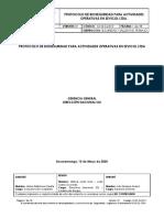 GI-SS-GU-012 Protocolo Bioseguridad Actividades Operativas en Sevicol Ltda. Rev 01