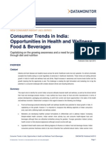 Consumer India - Healthy Foods