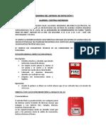 MEMORIA DEL SIST DETEC ALARMA CONTRAINCENDIOS-LAS FLORES .docx