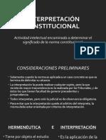 TERCER MODULO. LA INTERPRETACION E INTEGRACIÓN JURÍDICA CONSTITUCIONAL 2020 (1).pptx