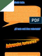 Tema 10 Las referencias y los conectores textuales