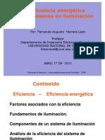 13. Eficiencia Energetica en Iluminacion - Fernando Herrera