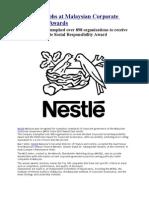 Nestlé triumphs at Malaysian Corporate Governance Awards
