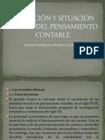 CLASE 1.1 EVOLUCIÓN Y SITUACIÓN ACTUAL DEL PENSAMIENTO CONTABLE