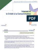 Internet et le crédit à la consommation
