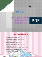 AKM II_BAB 23_KELOMPOK 6.pptx