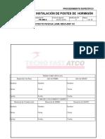 PE-250-2_MOD_1_I Instalación de postes de hormigón
