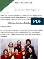 Peter Thiel's CS183_ Startup - Class 5 Notes Essay - Peter Thiel