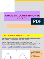 Chapter 3 Vapor and combined power cycles