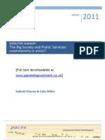 Big Society and Public Services Executive Summary