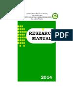ICHAMS research manual