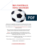 77791385 Pro Football Betting Systems