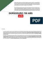 Aprillia Dorsoduro ABS Werkstatthandbuch