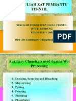 Zat Kimia Pembantu (Slide Kuliah II)