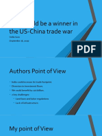 India Could Be a Winner in the US-China