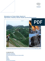 Managing Future Water Needs Discussion Document 2008