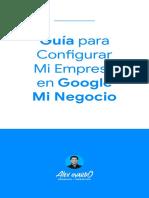 Guía Google Mi Negocio - Alex Oyardo