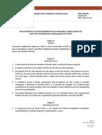 PRES-REG020v00 - Regulamento de Funcionamento das Unidades Curriculares