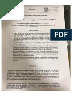 Designación Alcalde de Puerto Parra