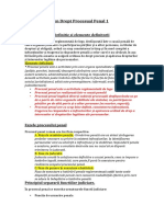 Subiecte examen Drept Procesual Penal 1 - Copy