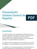 Presentación SGR