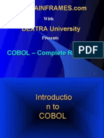 Cobol Complete Reference
