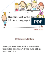 Autism and Language Learning