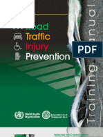 Road Traffic Injury Prevention Manual