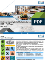 Dextrose Monohydrate Market Size, Demand, CAGR Value, Forecast by 2029