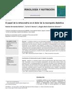 4 - 2012 El papel de la mitocondria en el dolor de la neuropatía diabética.pdf