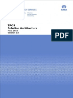 TPOS Product Solution Architecture