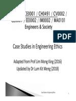 3. Case Studies in Engineering Ethics(2)